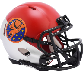 Air Force Falcons NCAA Mini Speed Tuskegee 99th