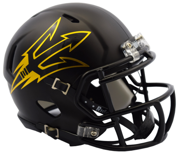 Arizona State Sun Devils NCAA Mini Speed Satin Black