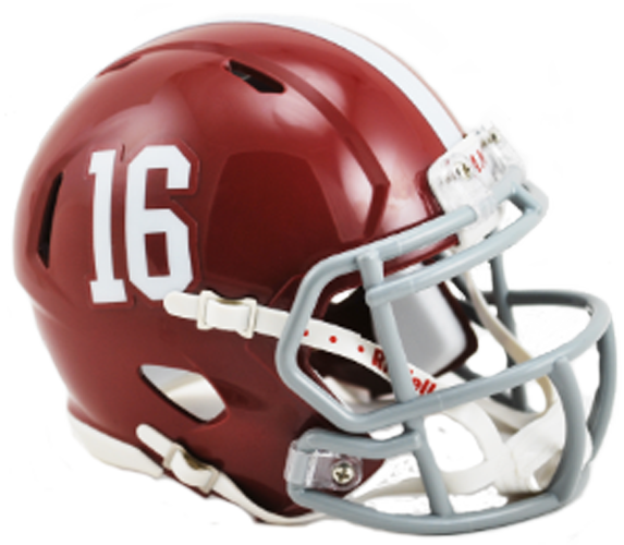 Alabama Crimson Tide NCAA Mini Speed #16