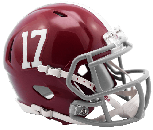 Alabama Crimson Tide NCAA Mini Speed #17