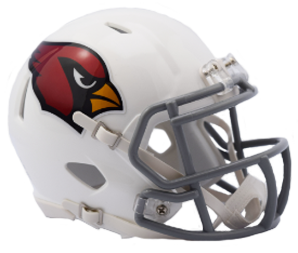Arizona Cardinals NFL Mini Speed 2017 Color Rush Chrome Decal