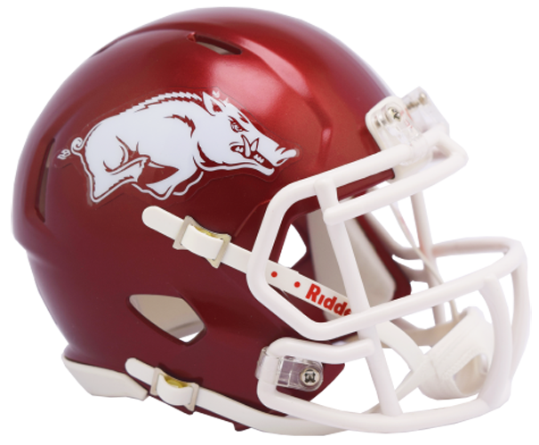 Arkansas Razorbacks NCAA Mini Speed 2018 Gloss