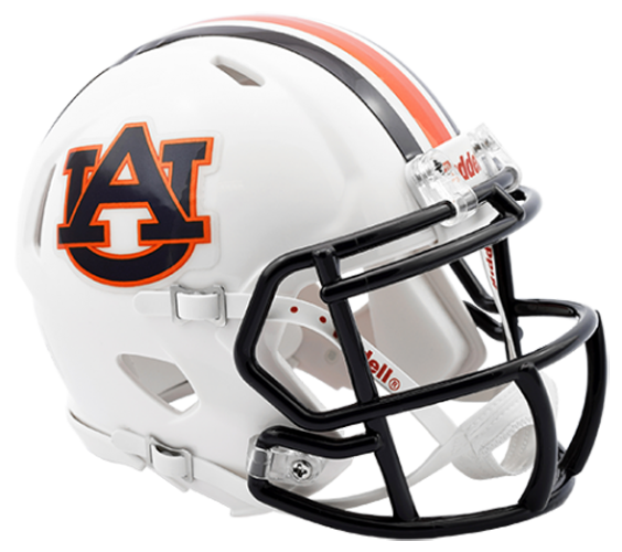 Auburn Tigers NCAA Mini Speed Chrome Decal 2016