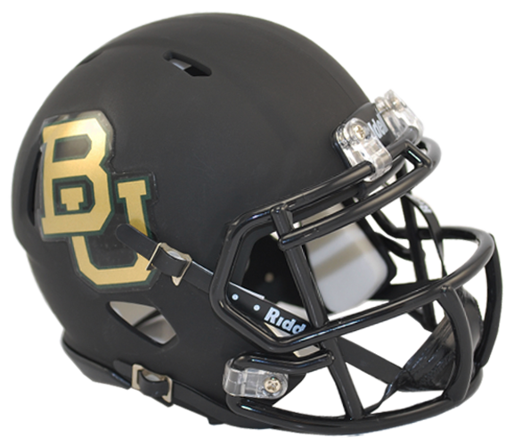 Baylor Bears NCAA Mini Speed Matte Black