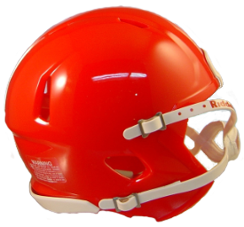 Mini Speed Football Helmet SHELL KC Red