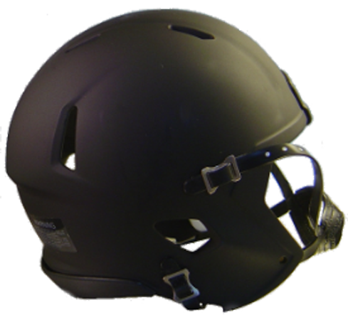 Mini Speed Football Helmet SHELL Matte Black/Blk Parts