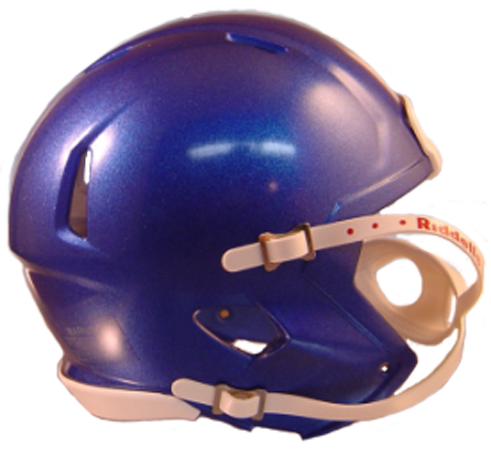 Mini Speed Football Helmet SHELL Memphis Blue