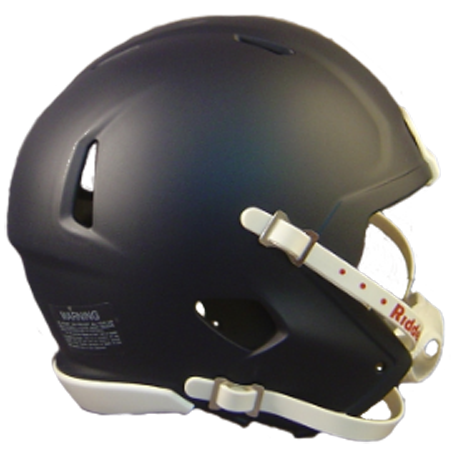 Mini Speed Football Helmet SHELL Matte Navy Blue