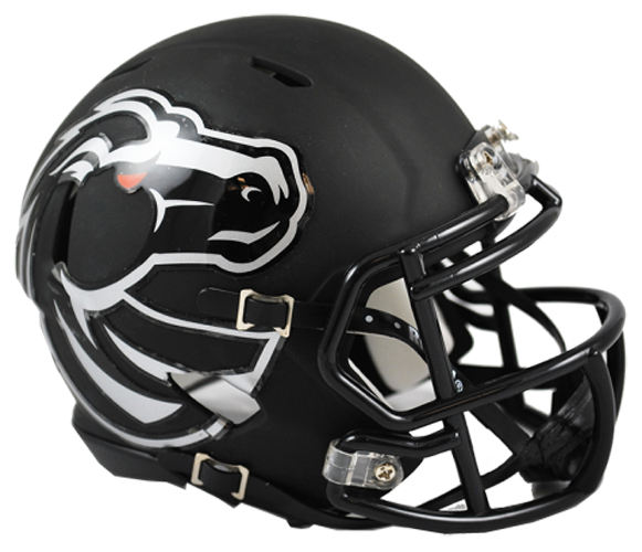 Boise State Broncos NCAA Mini Speed Matte Black