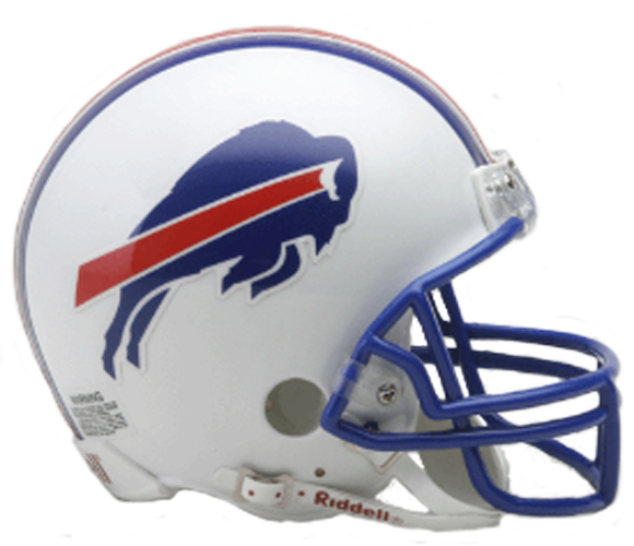 Buffalo Bills 1976 to 1983 Mini Throwback