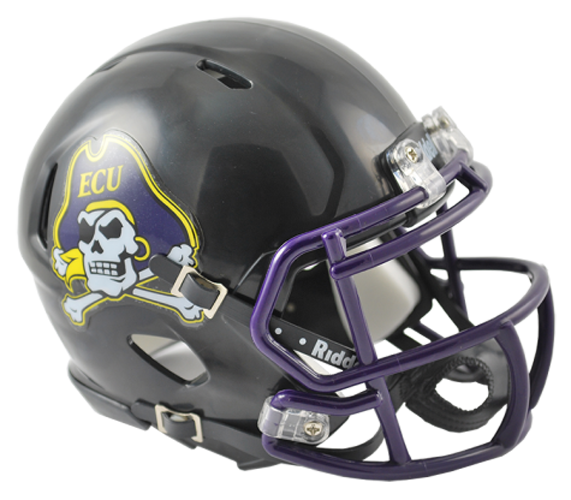 East Carolina Pirates NCAA Mini Speed Black