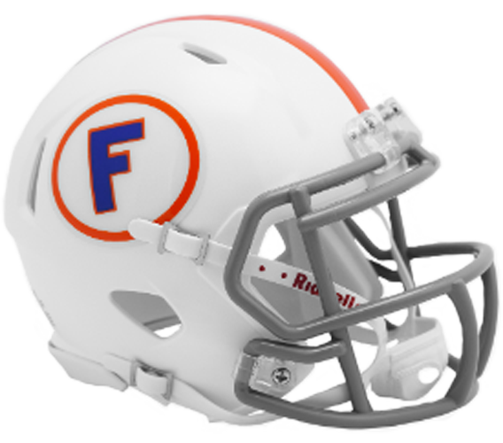 Florida Gators NCAA Mini Speed White