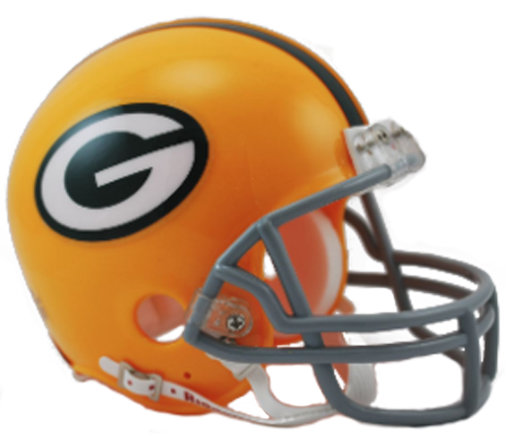 Green Bay Packers 1961 to 1979 Mini Throwback