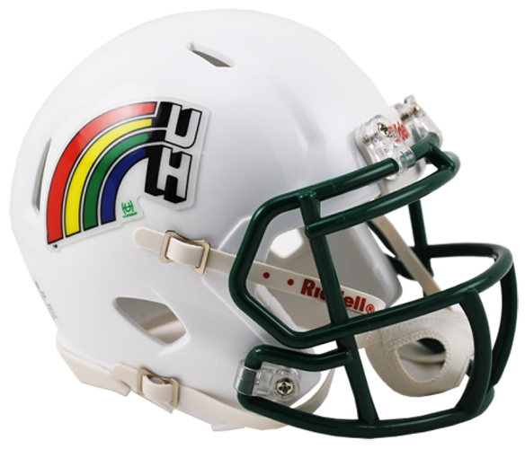 Hawaii Warriors NCAA Mini Speed Retro
