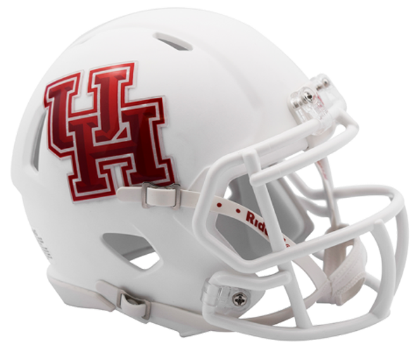 Houston Cougars NCAA Mini Speed Matte White