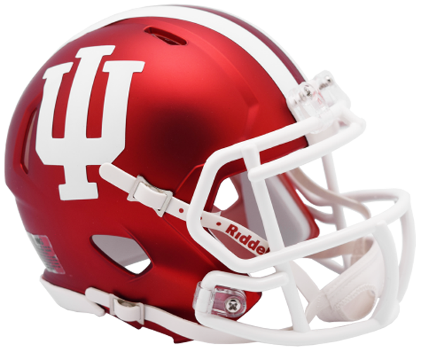 Indiana Hoosiers NCAA Mini Speed Anodized Crimson