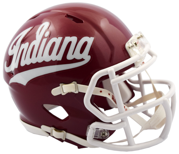 Indiana Hoosiers NCAA Mini Speed Script
