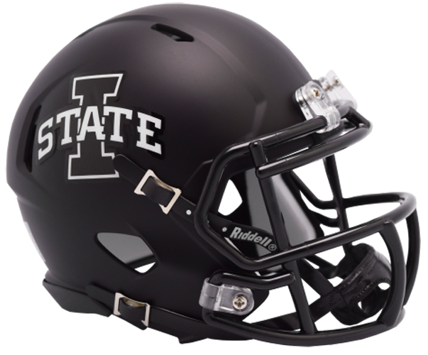 Iowa State Cyclones NCAA Mini Speed Matte Black