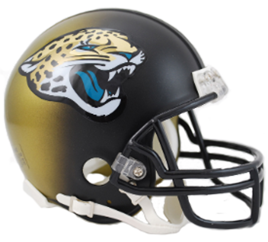 Jacksonville Jaguars 2013 to 2017 Mini Throwback