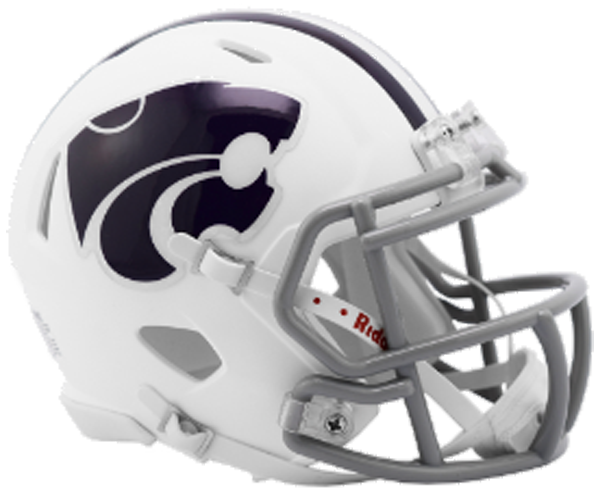 Kansas State Wildcats NCAA Mini Speed White