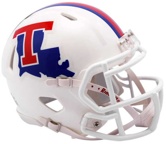 Louisiana Tech Bulldogs NCAA Mini Speed White