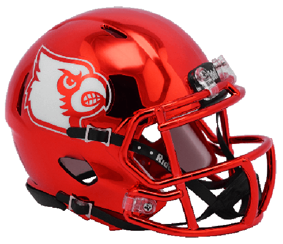 Louisville Cardinals NCAA Mini Speed CHROME