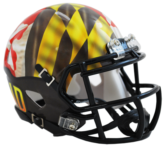 Maryland Terrapins NCAA Mini Speed Pride - Click Image to Close