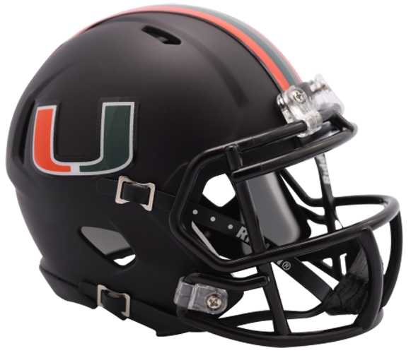 Miami Hurricanes NCAA Mini Speed 2017 Nights Alt