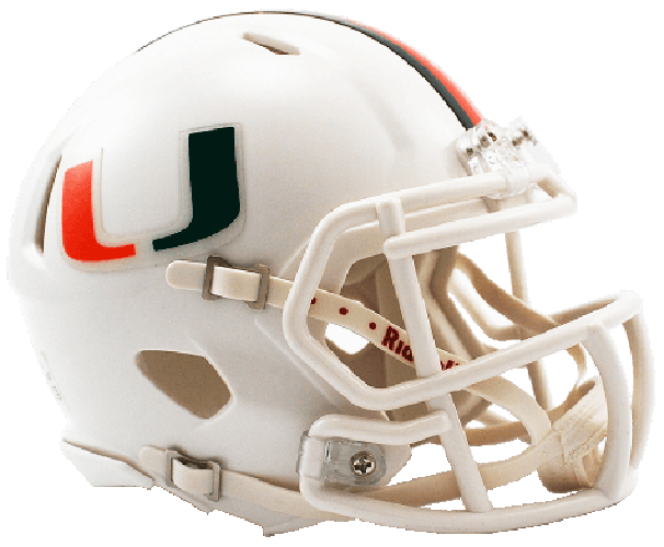 Miami Hurricanes NCAA Mini Speed