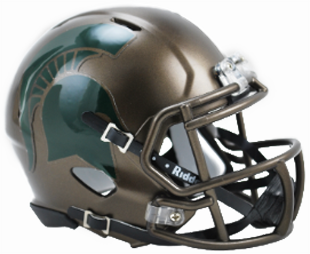 Michigan State Spartans NCAA Mini Speed Bronze
