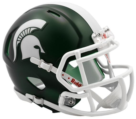 Michigan State Spartans NCAA Mini Speed Satin Green