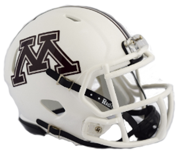 Minnesota Golden Gophers NCAA Mini Speed 2018 White
