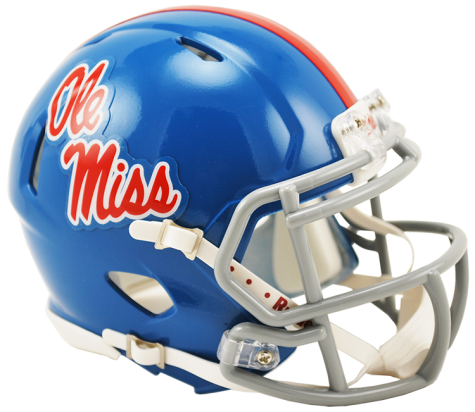 Mississippi (Ole Miss) Rebels NCAA Mini Speed Powder Blue