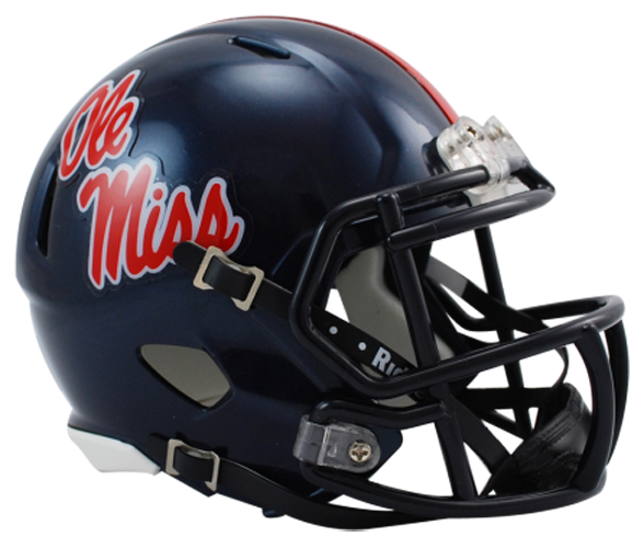 Mississippi (Ole Miss) Rebels NCAA Mini Speed - Click Image to Close