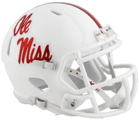 Mississippi (Ole Miss) Rebels NCAA Mini Speed 2018
