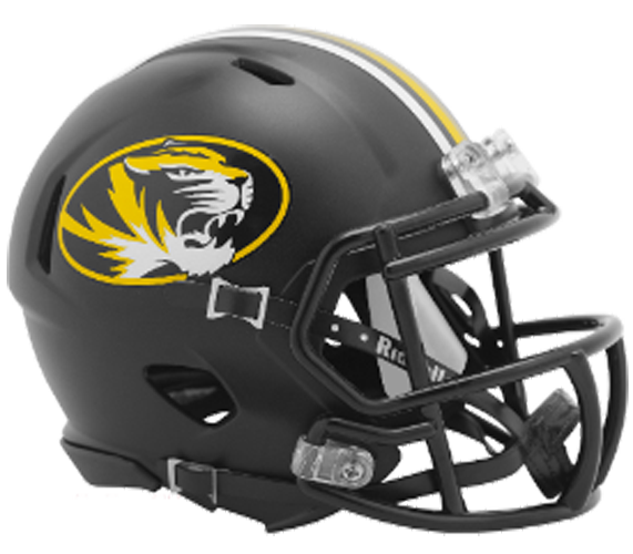Missouri Tigers NCAA Mini Speed Anodized Black - Click Image to Close