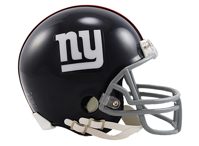 New York Giants 1961 to 1974 Mini Throwback