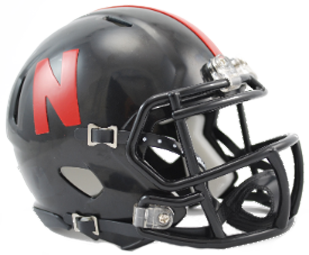 Nebraska Cornhuskers NCAA Mini Speed Black