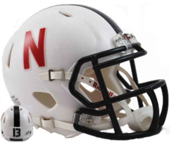 Nebraska Cornhuskers NCAA Mini Speed Alt White