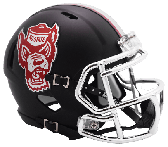 North Carolina State Wolfpack NCAA Mini Speed Black Howl