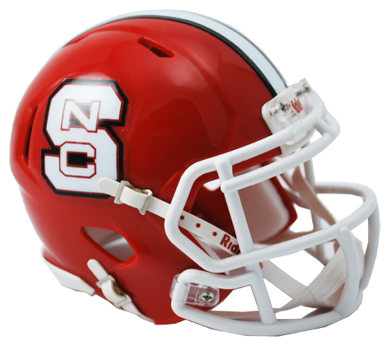 North Carolina State Wolfpack NCAA Mini Speed Red
