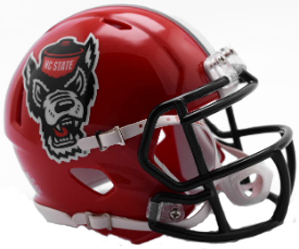 North Carolina State Wolfpack NCAA Mini Speed Red Tuffy