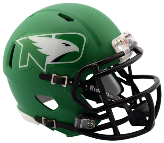 North Dakota Fighting Sioux NCAA Mini Speed Matte Green