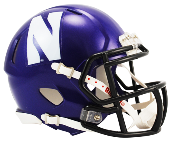 Northwestern Wildcats NCAA Mini Speed