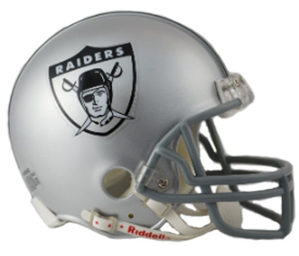 Oakland Raiders 1963 Mini Throwback