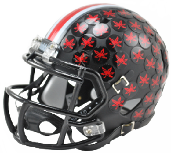 Ohio State Buckeyes NCAA Mini Speed Satin Black