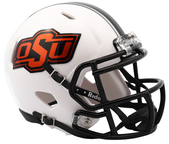 Oklahoma State Cowboys NCAA Mini Speed White 2016
