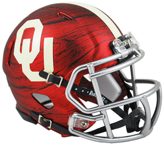 Oklahoma Sooners NCAA Mini Speed Bring The Wood Hydro Red