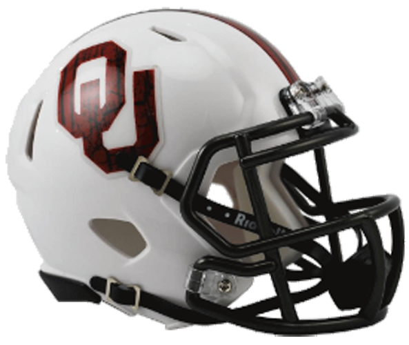 Oklahoma Sooners NCAA Mini Speed Bring The Wood White