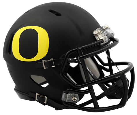 Oregon Ducks NCAA Mini Speed Matte Black